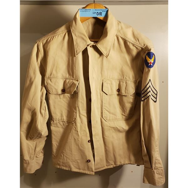 WWII? Buyer beware. 8th air force army shirt