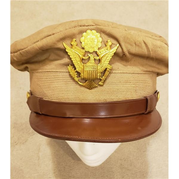 WWII US army aircorps Pilot officers 50 mission cap