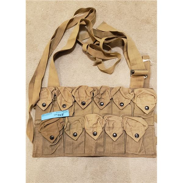 WWII US army Combat clip pouch