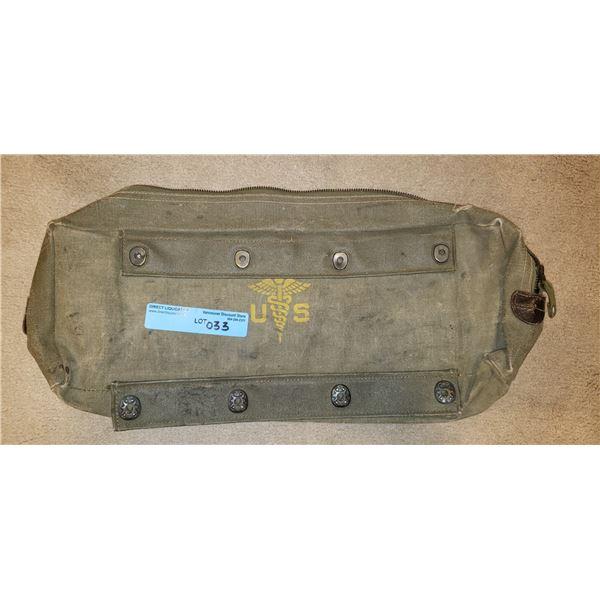 Saigon military vehicle US medical bag