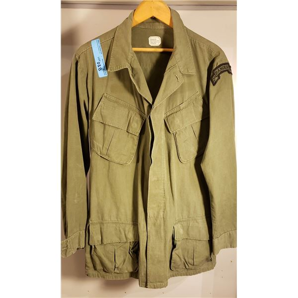 Saigon Regular cotton US army Saigon Ranger Outfit cold weather pants and regular pants 1972