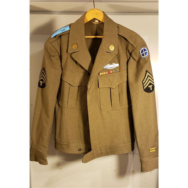 WWII US Army American Ike Jacket