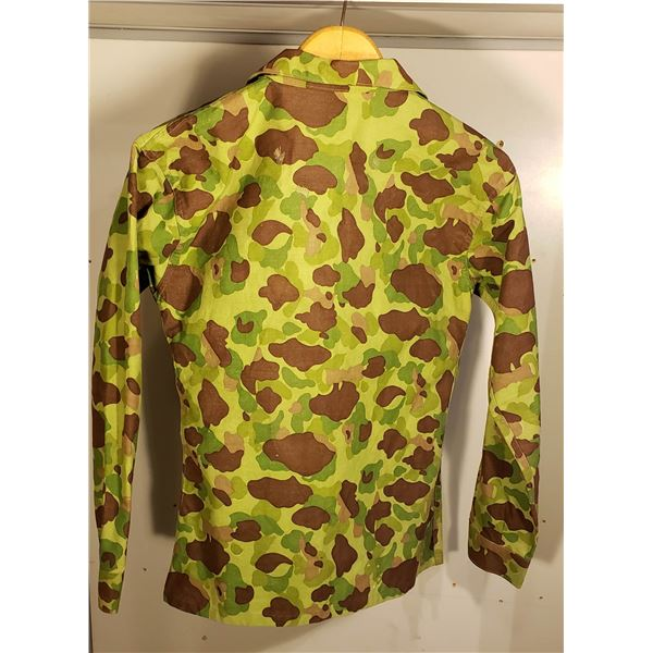 WWII private purchase camo shirt