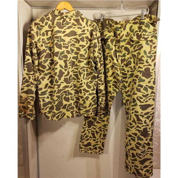 Saigon camo purchased while RNR in Hong Kong pants and jacket