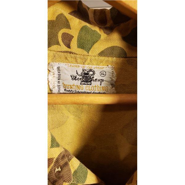 Saigon private purchase Hong Kong camo pants and jacket