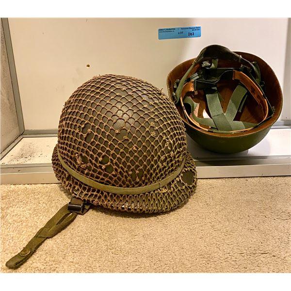 Post Saigon Post Saigon Paraliner steel pot helmet with liner & Camouflage cover