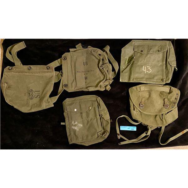 Saigon 5 Gas Mask bags