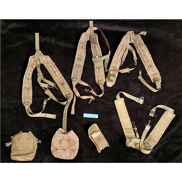 Saigon Miscellaneous combat webbing and canteen pouches