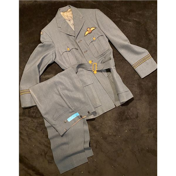Cold War RCAF Officer flying jacket with pants