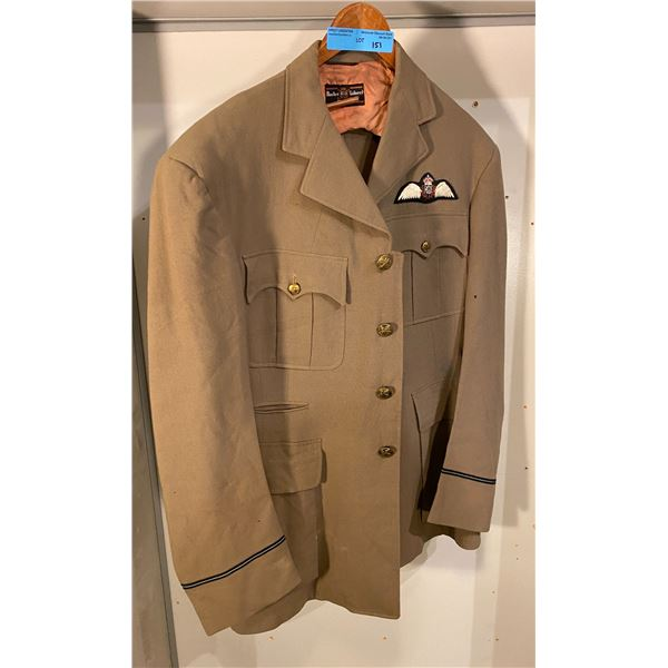 Post War RCAF tailored summer dress jacket