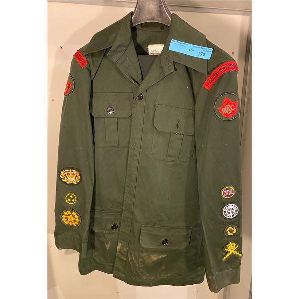 Peace Keeping Era  Canadian Cadette uniform 1992 (Size 7334) with pants