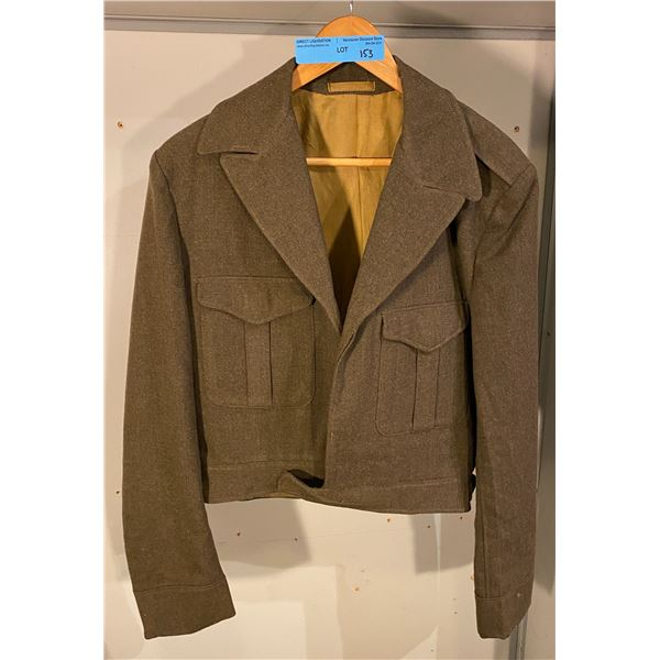 Cold war Canadian Battle dress cadet uniform 1956 (Size 30)