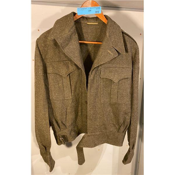 Post War  Post War Canadian Battle dress tounique 1951 (Size 10) Excellent Condition