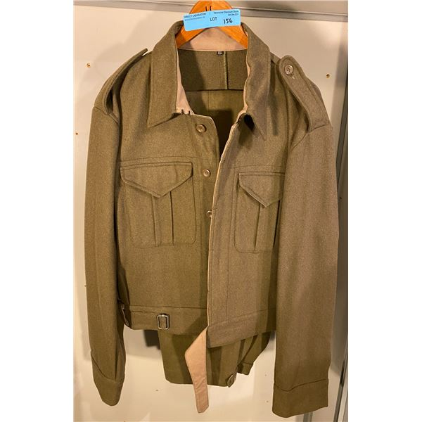 New Made  Reproduction WWll Canadian battle dress uniform (Size XXL) Manufactured by Spearhead