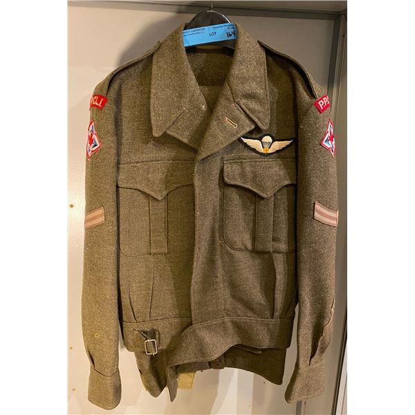 Post War Post-war Canadian battle dress uniform (Size 10) Matching set PPCLI (Great Condition)