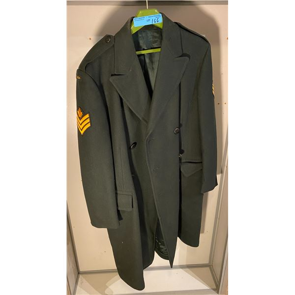 Cold War Cold War Canadian forces winter overcoat (size 14) 1969