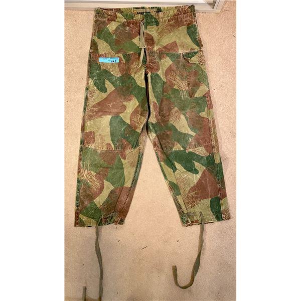 Post War Post War Dennison Camo pants - Belgian 1956 Same Pattern as British WWll