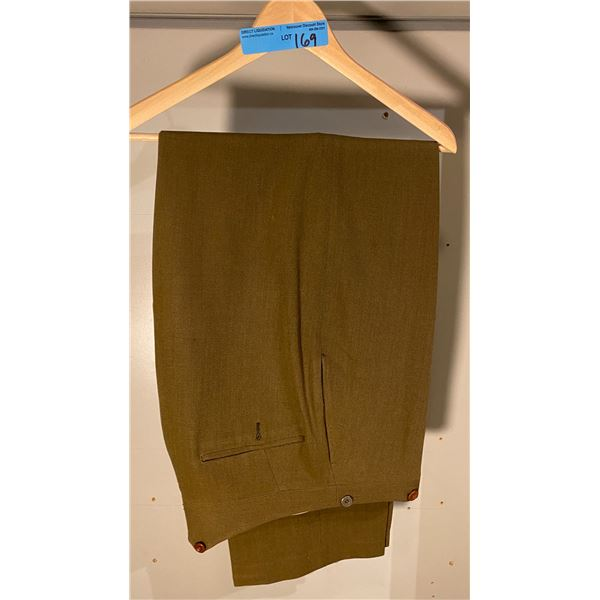 Post War Post War 1950s Officers Dress pants- tailor made