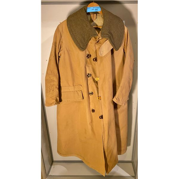 WWll  WWll British Kapok coat (Size 1) 1941- Some storage stain other than that, in great condition