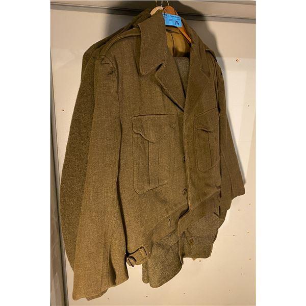 WWll Modified Children's uniforms- Battledress- (Youth 6-12) 3 jackets 2 pants