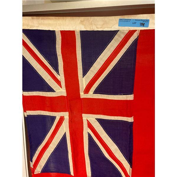 WWll WWll Canadian Red ensign cloth flag