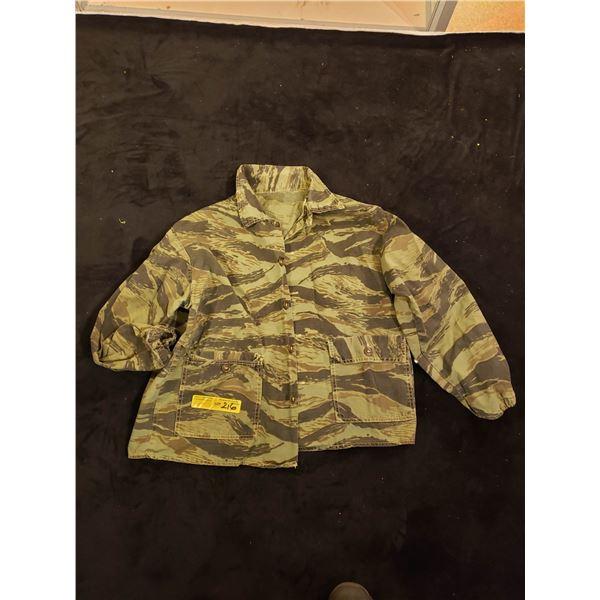 Saigon In-country made jacket and (tiger stripe) Saigon era