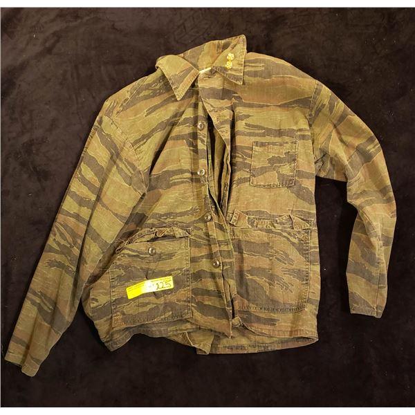 Saigon In-country tiger strip commanders jacket