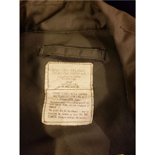 1980's US air force US air force 1980's lieutenant pilots jacket