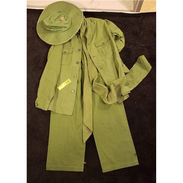 Saigon North Saigonese jacket, pants, scarf