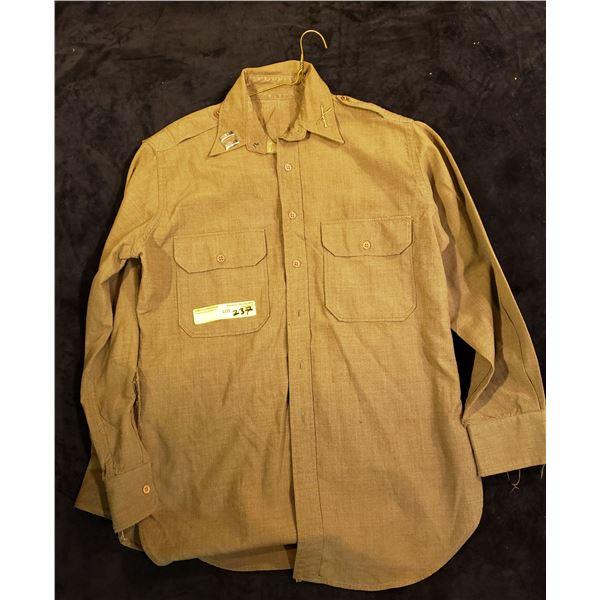 WWII Infantry WWII lieutenant US shirt