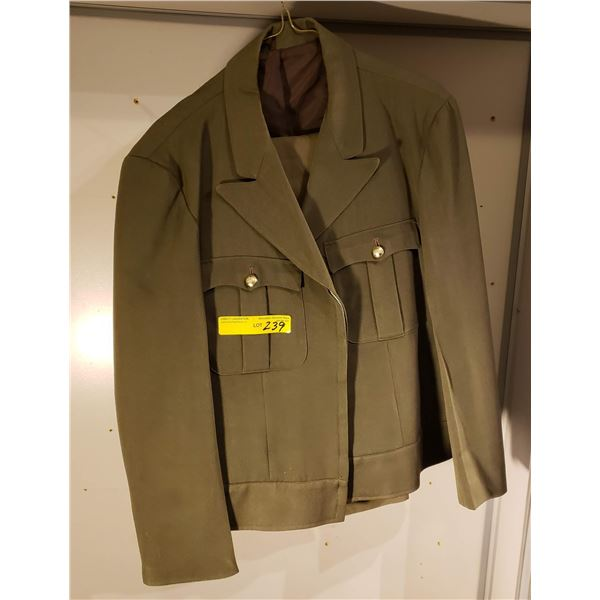 N/A Canadian service jacket and pants