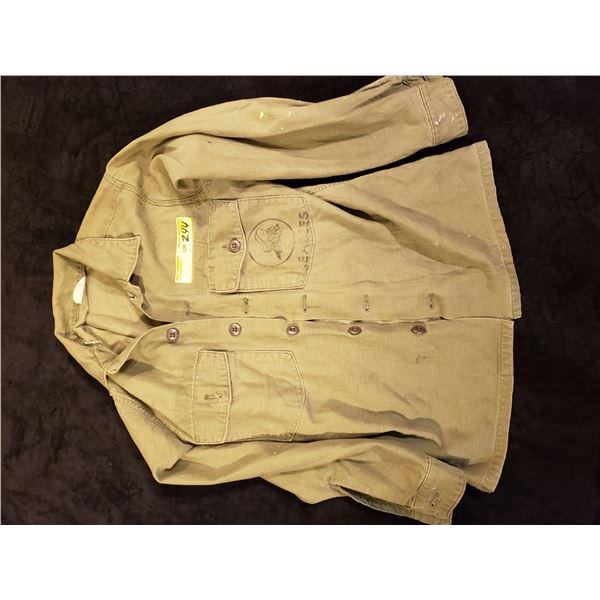 Korean  American Korean era fighting SEABEES jacket