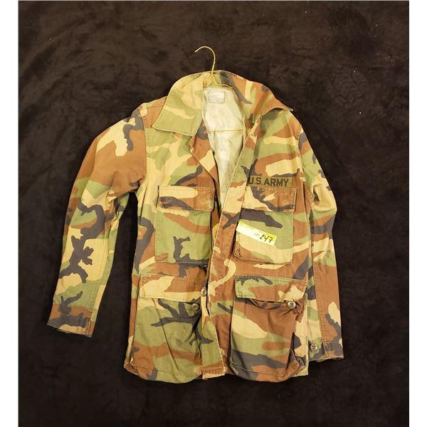 US Army  Woodland jacket US army 1980's