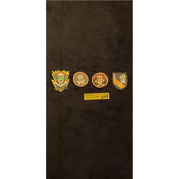 Saigon Special forces in country made patches