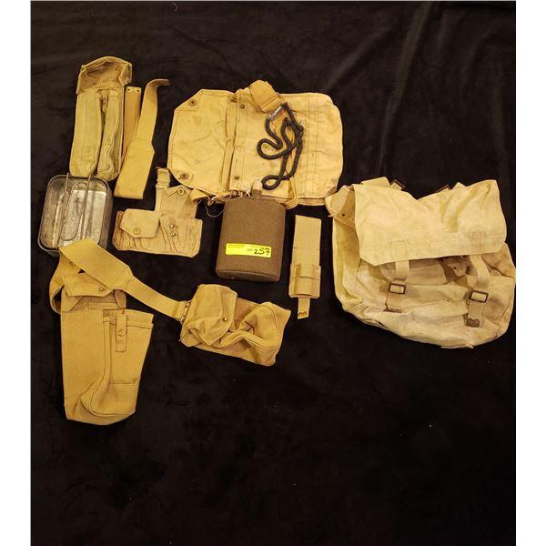 WWII Webbing  Mic - WWII Webbing & kit combat