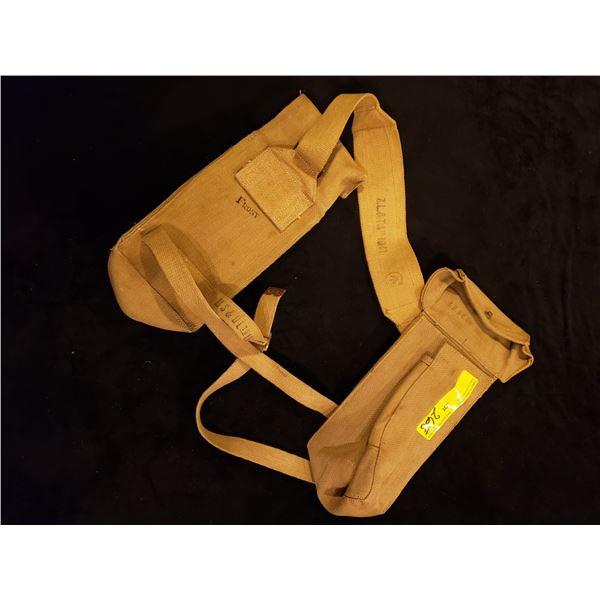 WWII Canadian -  WWII Canadian Bren Gun supplemental mag pouches