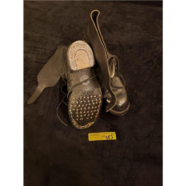 Post War  Post War Military boots Size 42