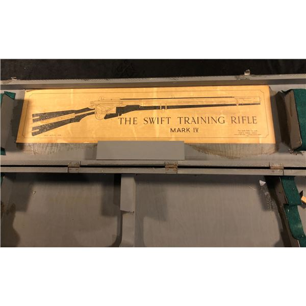 RAF Wooden case for the Swift Training RIfle Mark 4 Dated 1943