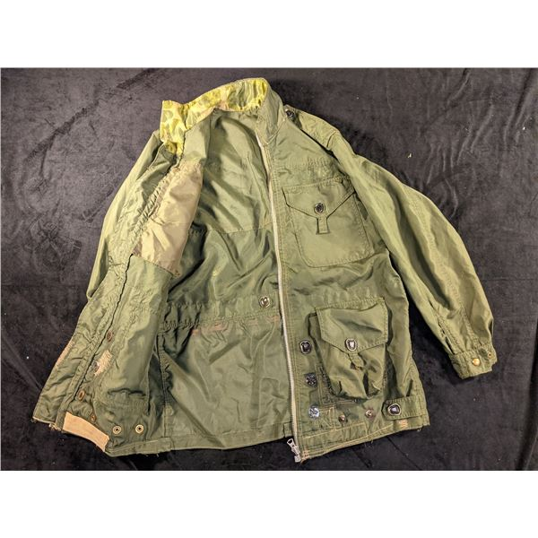 Canadian Vietnam 1960s Jump Jacket Private Purchase Vet Pickup