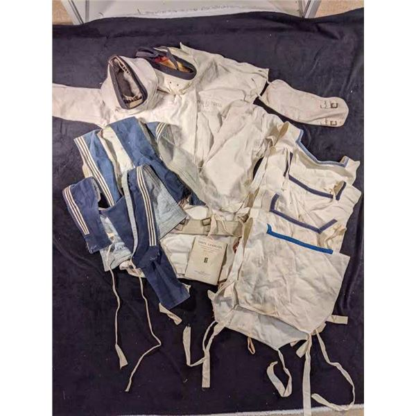 Canadian Navy WWII white summer navy uniform lot