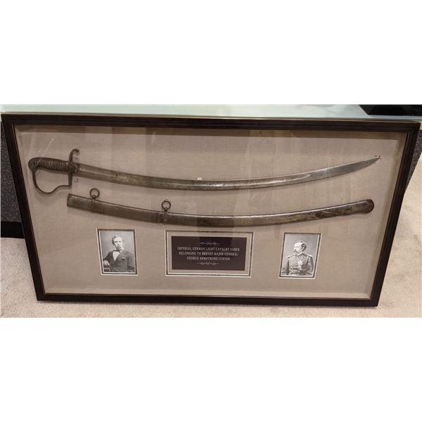 General George Armstrong Custer Sword