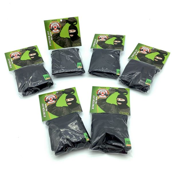 6 Primos Stretch-Fit Full Mask, New