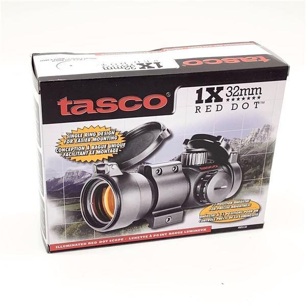 Tasco 1 X 32 Red Dot Optic, New