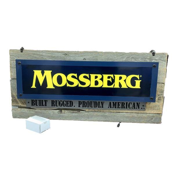 Mossberg Illuminating Advertising, New