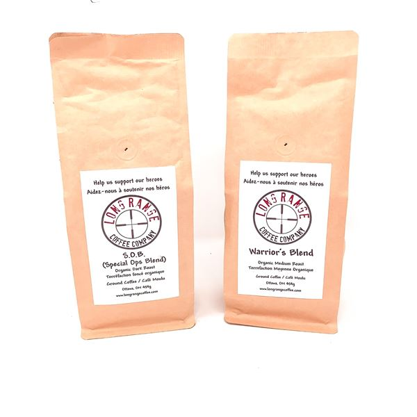 2 Assorted Flavors of Long Range Coffee Company, New
