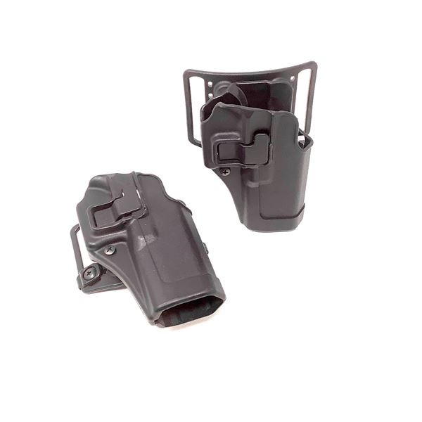 2 x Blackhawk CQC Holster for Glock 17/22