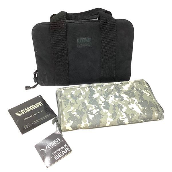 Blackhawk Pistol Gun Rug & Vism Pistol Range Bag Insert, New