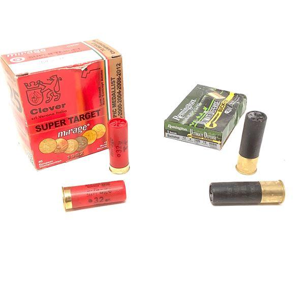 Assorted 12 Ga Ammunition, 32 Rnds