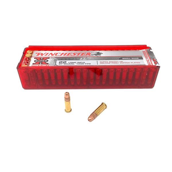 Winchester Super X 22lr Ammunition, 100 Rnds