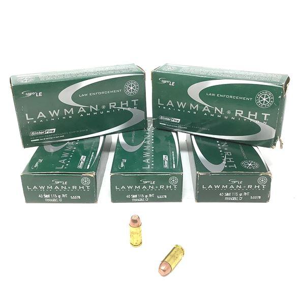 Lawman 40 S& W Ammunition, 250 Rnds